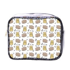 Cute Hamster Pattern Mini Toiletries Bags by BangZart
