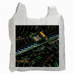 Computer Ram Tech Recycle Bag (two Side)  by BangZart
