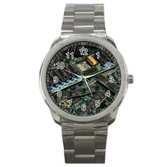 Computer Ram Tech Sport Metal Watch