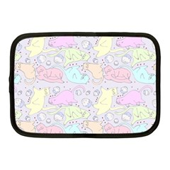 Cat Animal Pet Pattern Netbook Case (medium)  by BangZart