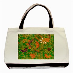 Art Batik The Traditional Fabric Basic Tote Bag (two Sides) by BangZart
