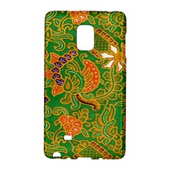 Art Batik The Traditional Fabric Galaxy Note Edge by BangZart