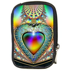 Rainbow Fractal Compact Camera Cases by BangZart