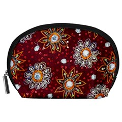 India Traditional Fabric Accessory Pouches (large)  by BangZart