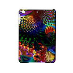 Colored Fractal Ipad Mini 2 Hardshell Cases