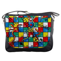 Snakes And Ladders Messenger Bags