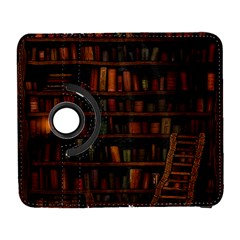 Books Library Galaxy S3 (flip/folio) by BangZart