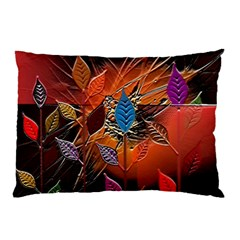 Colorful Leaves Pillow Case (two Sides)