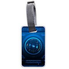 Technology Dashboard Luggage Tags (one Side)  by BangZart
