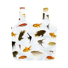Goldfish Full Print Recycle Bags (m)  by BangZart