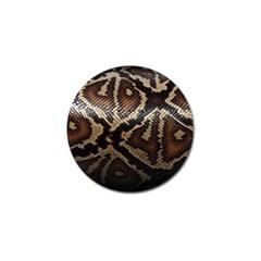 Snake Skin Olay Golf Ball Marker