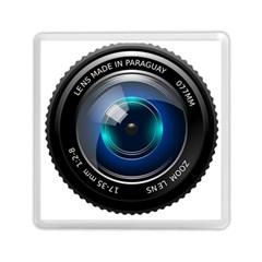 Camera Lens Prime Photography Memory Card Reader (square)