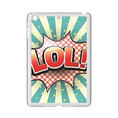 Lol Comic Speech Bubble  Vector Illustration Ipad Mini 2 Enamel Coated Cases by BangZart