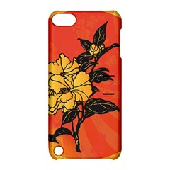 Vector Asian Flowers Apple Ipod Touch 5 Hardshell Case With Stand by BangZart