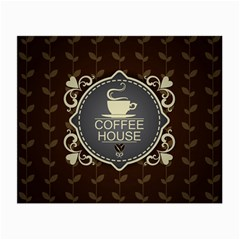 Coffee House Small Glasses Cloth (2 Side)