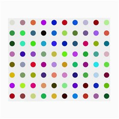 Circle Pattern Small Glasses Cloth (2 Side) by BangZart