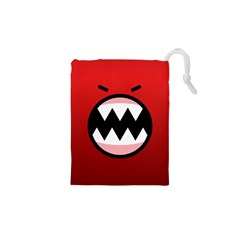 Funny Angry Drawstring Pouches (xs)  by BangZart