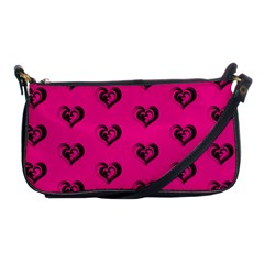 Lovely Hearts 17a Shoulder Clutch Bags by MoreColorsinLife