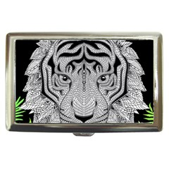 Tiger Head Cigarette Money Cases by BangZart