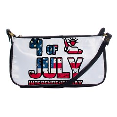 4th Of July Independence Day Shoulder Clutch Bags