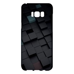 Blackcubes  Samsung Galaxy S8 Plus Hardshell Case  by amphoto
