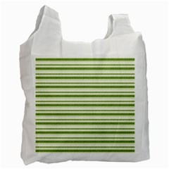 Spring Stripes Recycle Bag (two Side)  by designworld65