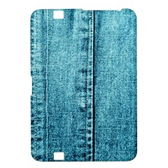 Denim Jeans Fabric Texture Kindle Fire Hd 8 9  by paulaoliveiradesign