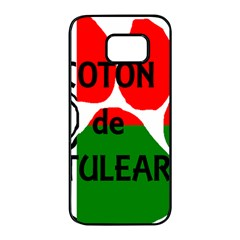 Coton Name Madagascar Paw Flag Samsung Galaxy S7 Edge Black Seamless Case by TailWags