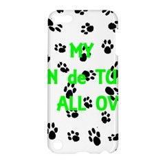 My Coton Walks On Me Apple Ipod Touch 5 Hardshell Case by TailWags