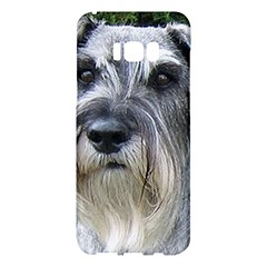 Standard Schnauzer 2 Samsung Galaxy S8 Plus Hardshell Case  by TailWags