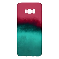 Ombre Samsung Galaxy S8 Plus Hardshell Case  by ValentinaDesign