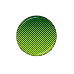 Halftone Circle Background Dot Hat Clip Ball Marker (10 Pack) by Nexatart