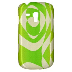 Green Shapes Canvas                        Samsung Galaxy Ace Plus S7500 Hardshell Case
