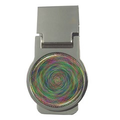 Spiral Spin Background Artwork Money Clips (round)  by Nexatart