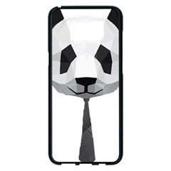 Office Panda T Shirt Samsung Galaxy S8 Plus Black Seamless Case by AmeeaDesign
