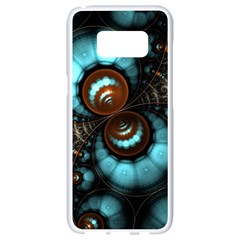 Spiral Background Form 3840x2400 Samsung Galaxy S8 White Seamless Case by amphoto
