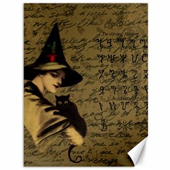 Witchcraft Vintage Canvas 36  X 48   by Valentinaart