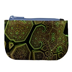 Fractal Weave Shape  Large Coin Purse by amphoto