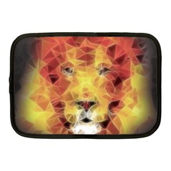 Fractal Lion Netbook Case (medium)  by Nexatart