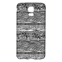 Ethno Seamless Pattern Samsung Galaxy S5 Back Case (white) by Nexatart
