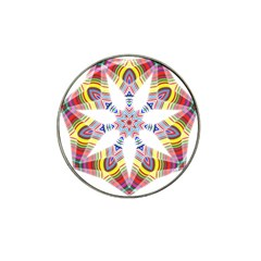 Colorful Chromatic Psychedelic Hat Clip Ball Marker (10 Pack) by Nexatart