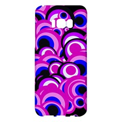 Retro Pattern 1973d Samsung Galaxy S8 Plus Hardshell Case  by MoreColorsinLife