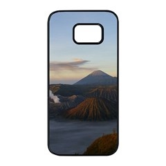 Sunrise Mount Bromo Tengger Semeru National Park  Indonesia Samsung Galaxy S7 Edge Black Seamless Case