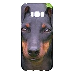 Manchester Terrier Samsung Galaxy S8 Plus Hardshell Case  by TailWags