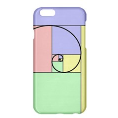Golden Spiral Logarithmic Color Apple Iphone 6 Plus/6s Plus Hardshell Case by Mariart