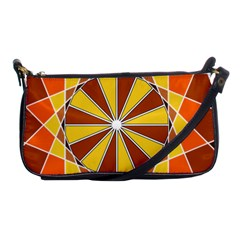 Ornaments Art Line Circle Shoulder Clutch Bags by Mariart