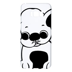 Pug Puppy Cartoon Samsung Galaxy S8 Plus Hardshell Case  by TailWags