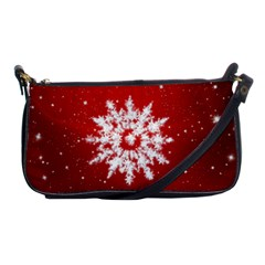 Background Christmas Star Shoulder Clutch Bags by Nexatart