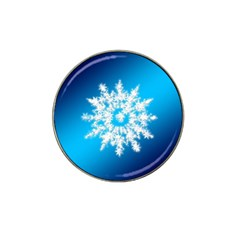 Background Christmas Star Hat Clip Ball Marker (10 Pack) by Nexatart
