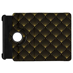 Abstract Stripes Pattern Kindle Fire Hd 7  by Onesevenart